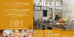Showcooking y talleres chef in house sorteos MIA MADRE