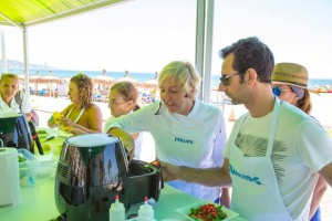 Showcooking y talleres chef in house philips3