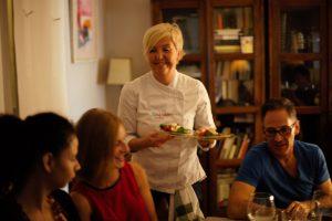Chef personal en Madrid- cena con amigos